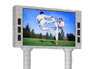 China Aluminum Cabinet HD Outdoor Waterproof Led Advertising Screen P6 P8 P10 on sale