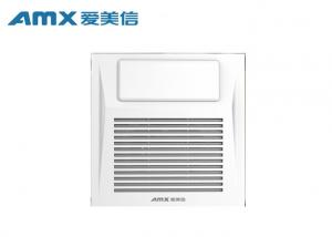 China AMX Bathroom Vent Fan With Light , Ceiling Mount Bathroom Exhaust Fan With Light on sale
