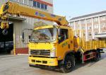 Heavy Duty Truck Mounted Telescopic Crane Construction Machine 10 Wheels