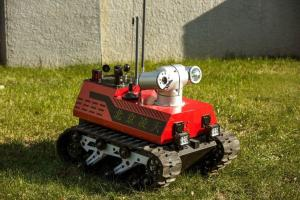 China Advanced Fire Fighting Equipment Fire Reconnaissance Robot RXR-C7BD on sale