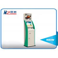 Multi function self service kiosk with currency exchange bill payment