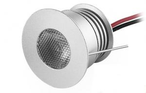 China IP44 3W Dimmable LED Down Lights Recessed Led Cabinet Lights 250LM DC12-24V on sale