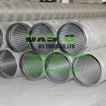 stainless steel continuous slot wire wrapped water well screens China Supplier