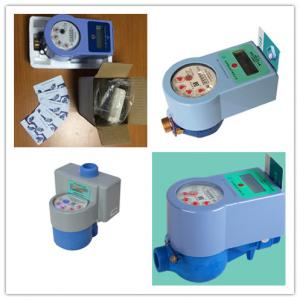 Quality Smart Prepaid Electronic Water Meter With IC Card Contactless For Measuring for sale