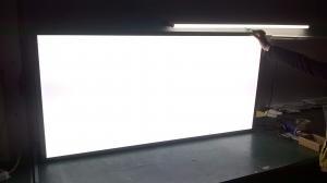 China 2x2 2x4 Ceiling LED Panel Light , Flat Panel Led Ceiling Lights White / Silver Frame on sale