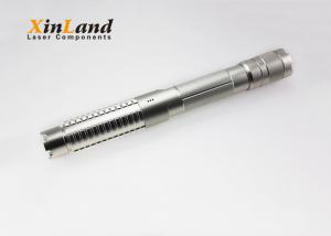 China Industrial 5 Watt Powerful Laser Pointer Pen With Aluminum Press Switch on sale