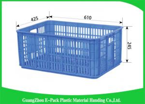 China Durable Plastic Food Cratest Medicine Transpor PE Material Environmental Protection on sale