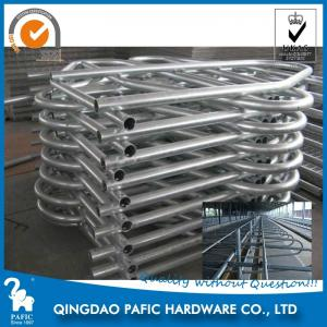China Hot-Dip Galvanized Steel Tube Cattle Free Stall For Dairy Farm 4m Length on sale