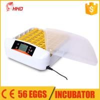 China 2016 new products portable China fully automatic egg incubator and hatcher YZ-56A