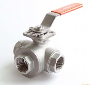 China PTFE Seats Trunnion Mounted Ball Valve , Seal Structure Floating Ball Check Valve on sale