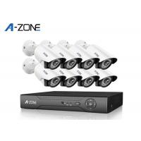 China 1440P IP CCTV Camera Kits , 8 Channel Nvr Kit 4Mp With Night Vision on sale