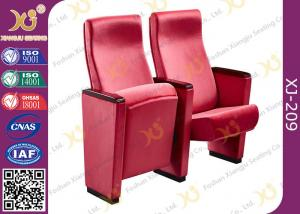 China Red Acrylic Fabric Public Space Church Install Conference Room Chairs With Long Warranty on sale
