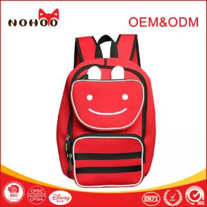 China Nohoo Neoprene Children School Backpack Large Space For Primary Students on sale