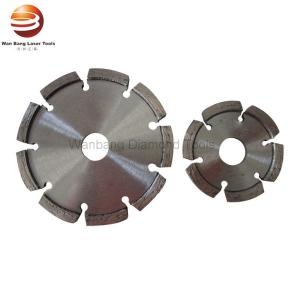 China 100mm 250mm Laser Welded Diamond Tuck Point Blade on sale