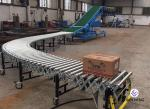 Adjustable Brake Conveyor For 20 Feet 40 Feet Container Loading And Unloading
