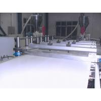 China Shockproof PVC Foam Board Extrusion Line Weather Resistant Heat Insulation on sale