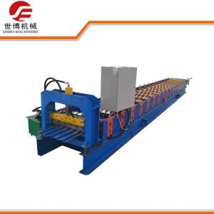 China Galvanized Steel Roller Shutter Door Forming Machine 380V 50Hz With 3 Phases on sale