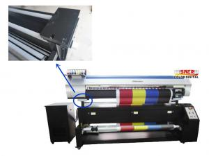 China 1.8m Print Width Continuous Inkjet Printer For Cotton Silk And Polyester on sale