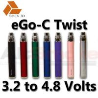 2012 factory high quality electronic cigarette ego-c twist