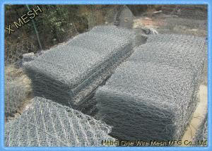 China PVC Coated Welded Gabion Baskets And Cages With AS/NZS 4671 Compliant on sale