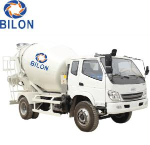 China 3m3 Concrete Mixer Truck With 4 Wheel Driver , 2 Wheel Steering on sale