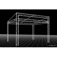Aluminium trade show/exhibition truss system