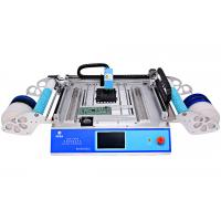 China 2 Heads 58 Feeders CHMT48VB Benchtop Advanced SMD Pick and Place Machine / All-in -one Chip Mounter on sale