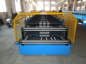 China Customerized Double Layer Roll Forming Machine 0.4 - 0.8mm Thickness on sale