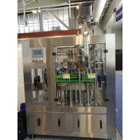 500 BPH Monoblock Filling Machine Glass Bottle Washing Filling Capping