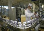 La machine de développement de yaourt en plastique de tasse/a pasteurisé la ligne de fabrication de lait pour la crème glacée