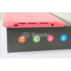 China Wireless 7 Inch Android Tablet PC , Dual Mali-400 2D / 3D core on sale