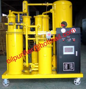 China Vacuum Hydraulic Oil Cleaning System,Used Hydraulic Oil Refinery Machine, clean moisture,hydrocarbon, acids on sale