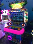 Lights Button Hitting Simulator Lottery Game Machine , Crazy Crocodile Music Hit Amusement Arcade Machines