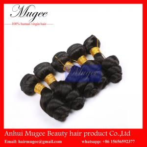 China Full cuticle virgin hair brazilian loose weave hair weave,human hair extension on sale