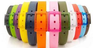 China 2014 fashion Colorful perfume silicone belt on sale