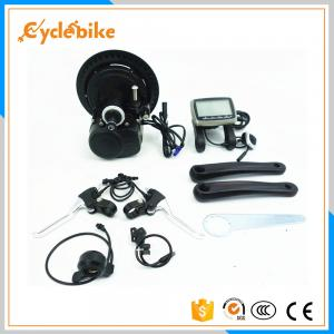China 36v 250w Mid Crank Motor E Bike Kit Integrated Builit-In Controller 13A on sale