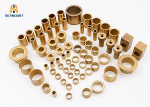 China Powder Metallurgy Sintered Bronze Bushing Oil Immersed Bronze Sleeve Bearings on sale