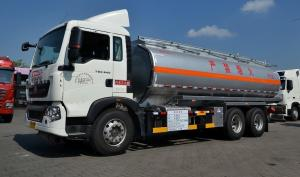 China 22cbm Fuel Oil Delivery Truck with 336 Hp engine , RHD optional Oil Tank Trailer on sale