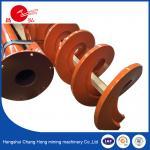 Special Spiral Auger Blades Screw Rod Stainless Steel Carbon Steel Diameter 80mm