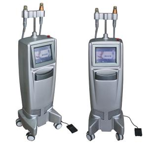 China Microneedle fractional rf thermage cpt skin rejuvenation machine with 2 handle on sale