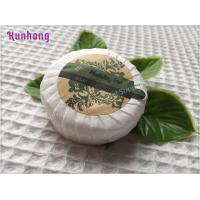 Customized Round White hotel small hotel toilet soap bar soap