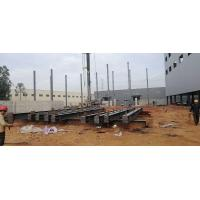 Prefabricated Workshop Steel Structure With Hot - Rolled Steel Profiles