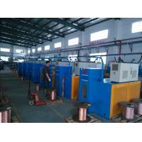 China Small Copper Drawing Machine , Continuous Annealing Wire Drawing Equipment on sale