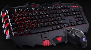 Quality Environmental Aula 889+928 Wired Gaming Keyboard And Mouse Combo Humanization for sale