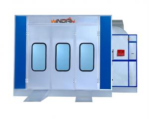 China Portable Down Draft Spray Booth Use Flame-Resistant Panel WD-902 on sale