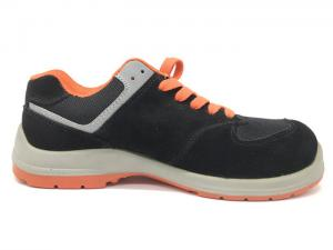 China Breathable Ladies Safety Shoes Superior Comfort Cushioned Footbed Wicking Dry Insole on sale
