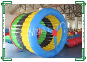 China Waterproof Inflatable Water Games Water Roller , Inflatable Wheel Roller on sale