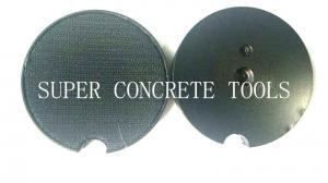 China Plug Type Velcro Holder For Floor Grinders Plate Floor Grinding And Polishing on sale