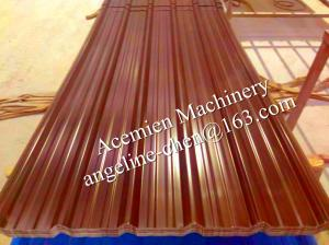 China El calor plástico del PVC y el aislamiento sano acanalaron el panel de la techumbre de teja de tejado on sale