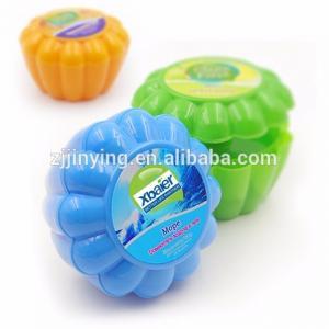 China 50g/80g/110g/150g Bathroom Eco-Friendly Odor Eliminator Canned Gel Air Freshener Deodorant on sale